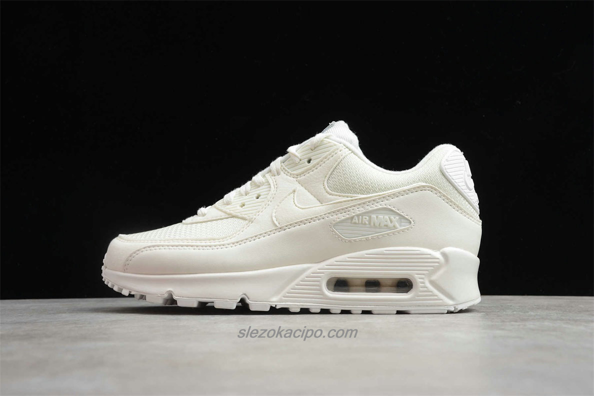 2020 Nike Air Max 90 QS CT2007 100 Bézs Cipő